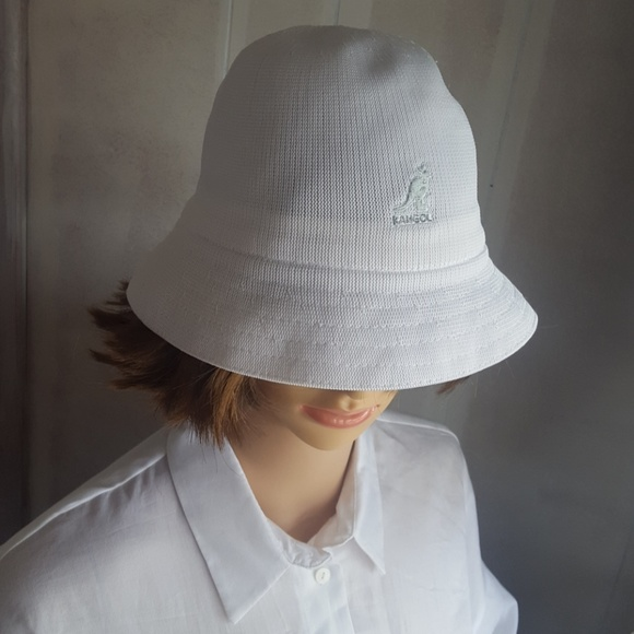 0b3736e809d Kangol Other - Kangol Tropic Casual White Bucket Hat Small Medium